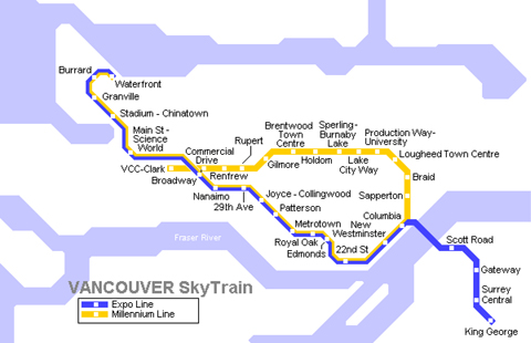Ванкувер · Посмотреть схему