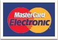 Оплата пластиковой картой MasterCard Electronic